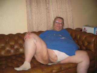 White granny panties
