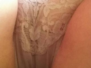 wet panties and pussy