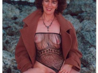 Catherine naked outdoors