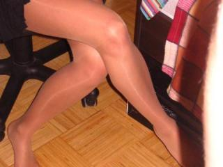 My pantyhose feet