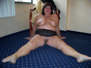 Mature Thick Chick Strip XIV-a