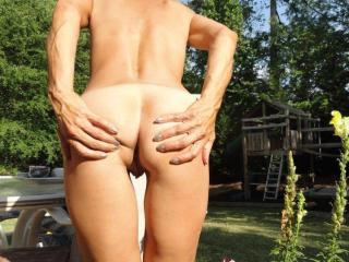 Jade...tanning in the backyard 15 of 20