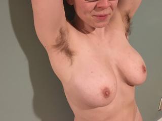 Big tits, furry pits