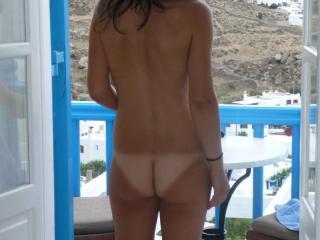 Slut Wife on Vacation 10 of 11