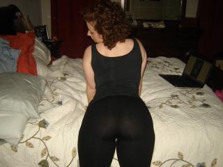 Milf in yoga pants