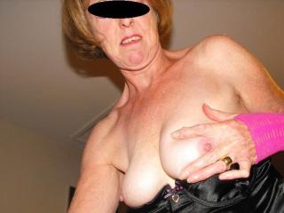 more slut mature posing