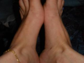 just feet for you