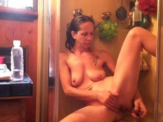 Shower playtime