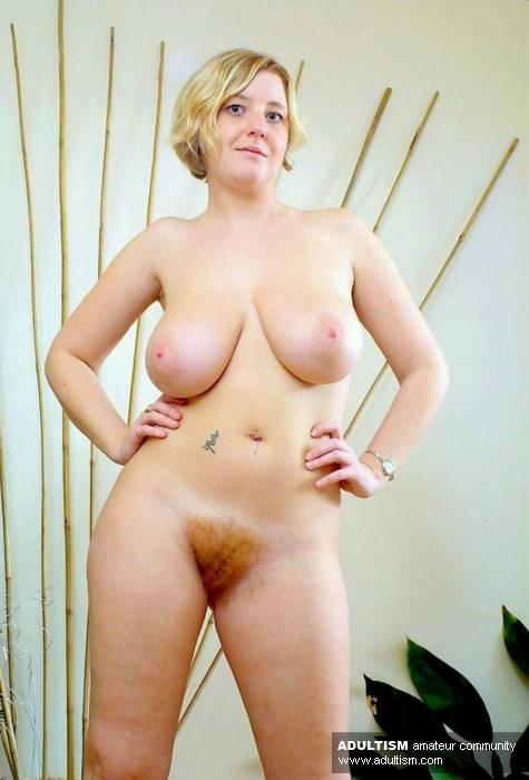 Фото жен голых с волосатым лобком