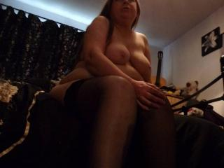 Mummy's Nude in Heels and Stockings Again!