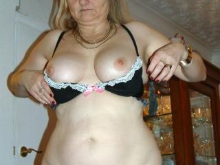 New bra and sheer white panties