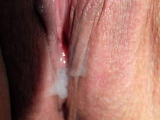 Fuck, creampie and licking