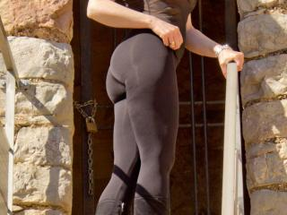 screen of More of me in my leggings for you guys