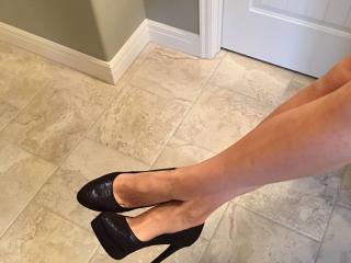 Wife's new heels