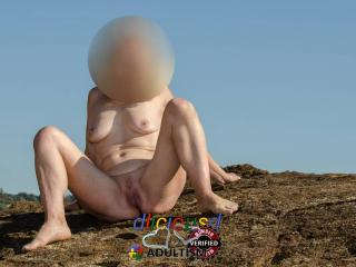 Nude at the beach