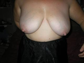 My sexy Wifes 38e tits 2 of 16