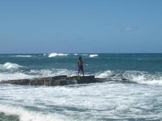 Enjoying Puerto Rico