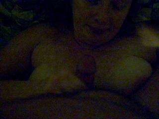 Recet video  wife take  load to face