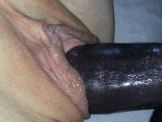 Black cock white pussy