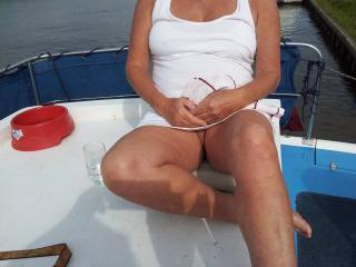 Upskirt wife