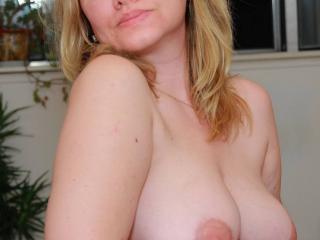 My sensitive tits. Do you like them?