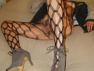 Mrs Nail in Mesh