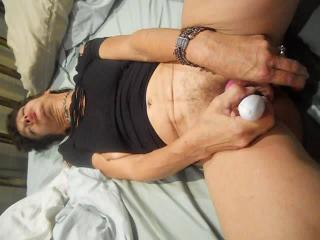 50 Y/O Milf-Getting Herself Off