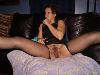 Garter stockings and pussy