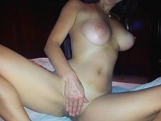 Pictures of the boobs of my wife