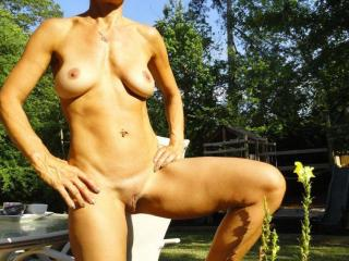 Jade...tanning in the backyard 20 of 20