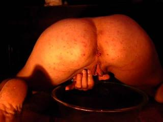 Rear view piss