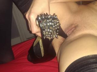 Lynn in her heels