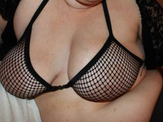fishnet tits