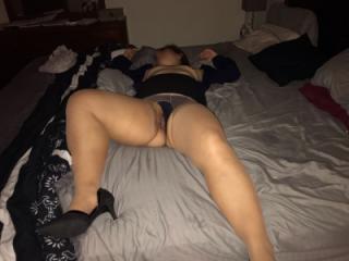 Crotchless Pantyhose Fun pics