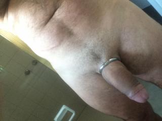 Anal plug with cock ring