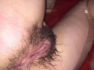 hairy wife huge pussy