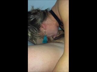 My sexy Sub Milf Sucking Cock