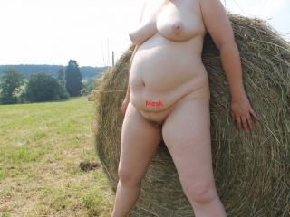 A lonely haystack 8 of 9