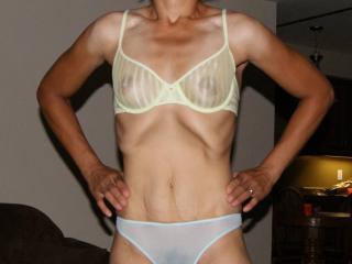 Me in bra and panties