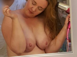 Mirror shots by hubby