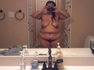 Just me naked