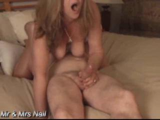 Eating Mrs Nail's sweet pussy