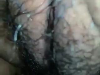 Wet Asian pussy