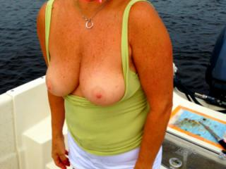 Hot Wife at 61 Tits