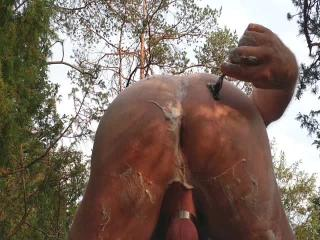 Shaving Outdoor
