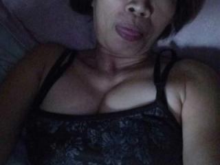 Filipina in panties and bra