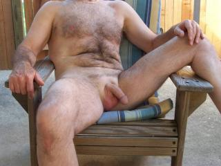 I love being nude outside