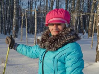 2019 Skiing Portrait