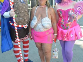 More Saturday, Fantasy Fest Key West 2018 - Bodypainting