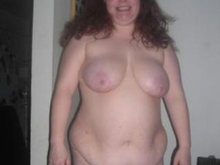 Fat naked wife